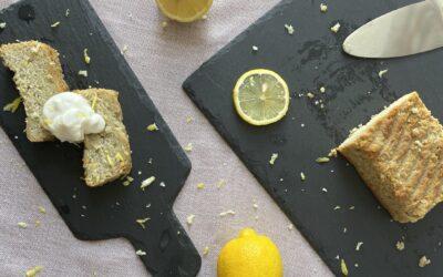 AIP citronový chlebík (paleo, vegan)